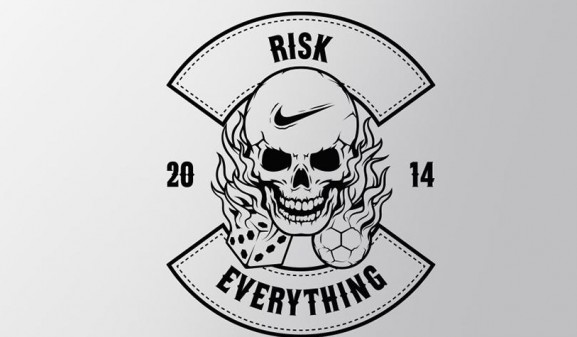 Nike football risk everything wallpaper