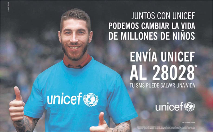 Sergio Ramos_UNICEF