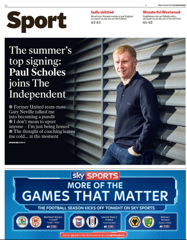 Paul Scholes_The independent