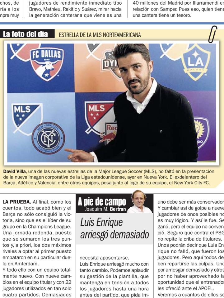 David Villa_MLS