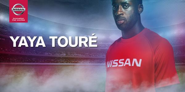 Yaya Toure_Nissan