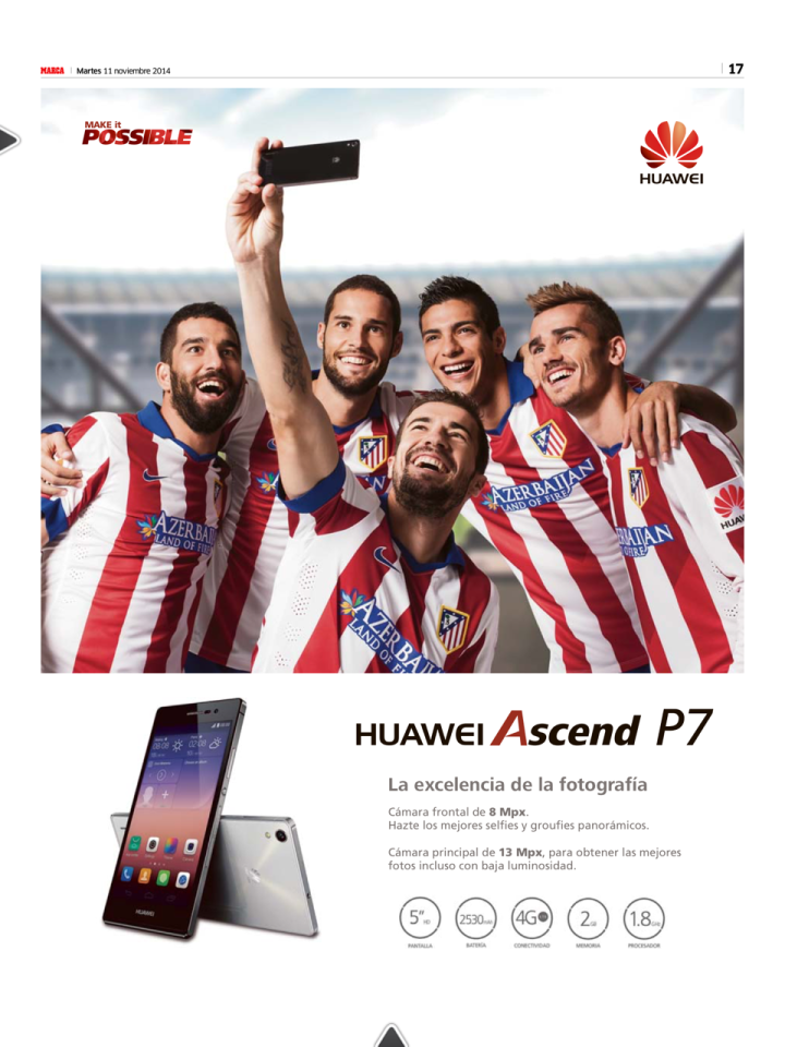 Atletico - Huawei