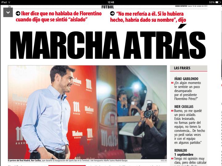 Casillas - Mahou
