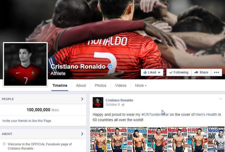 Cristiano Ronaldo -100m_cover
