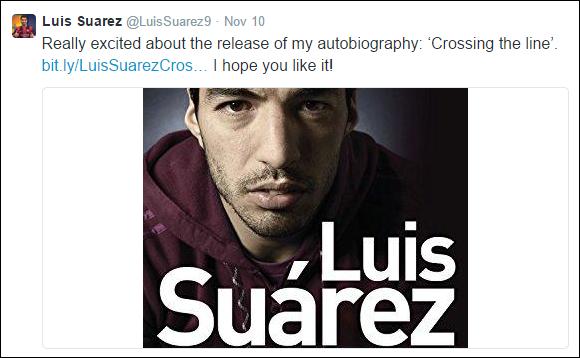 Luis Suarez - Twitter