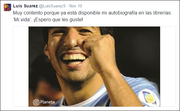Luis Suarez - Twitter2