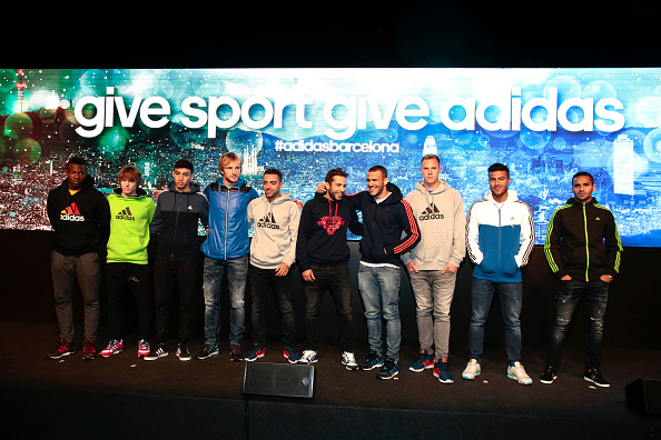 Adidas Christmas Event In Barcelona