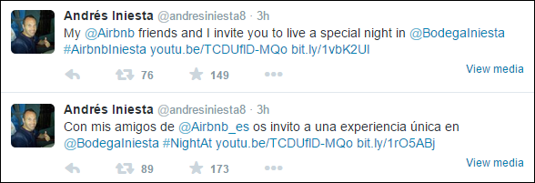 Iniesta_Airbnb_twitter