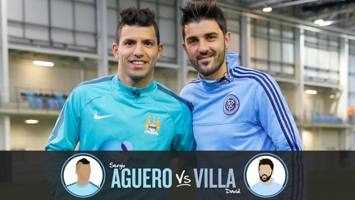 Aguero and Villa