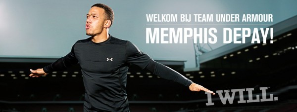 Depay_Under Armour