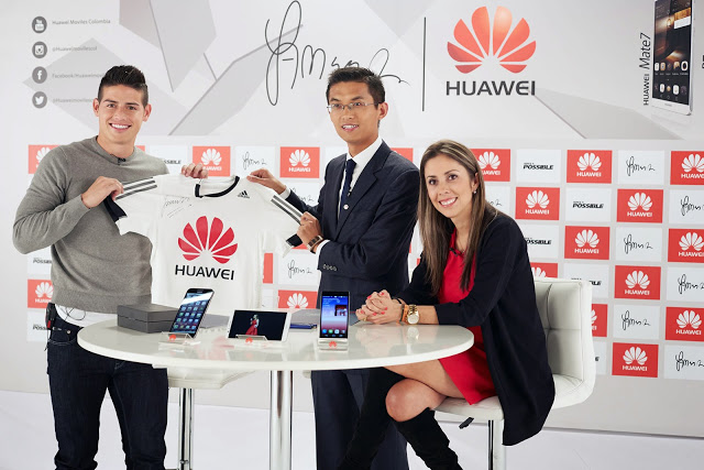 James Rodriguez_Huawei