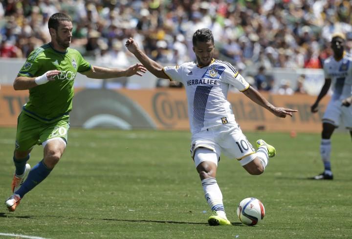 MLS Sounders Galaxy Soccer
