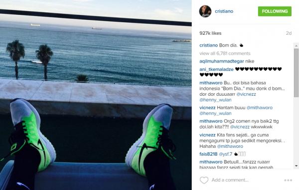 Cristiano_Instagram_Nike