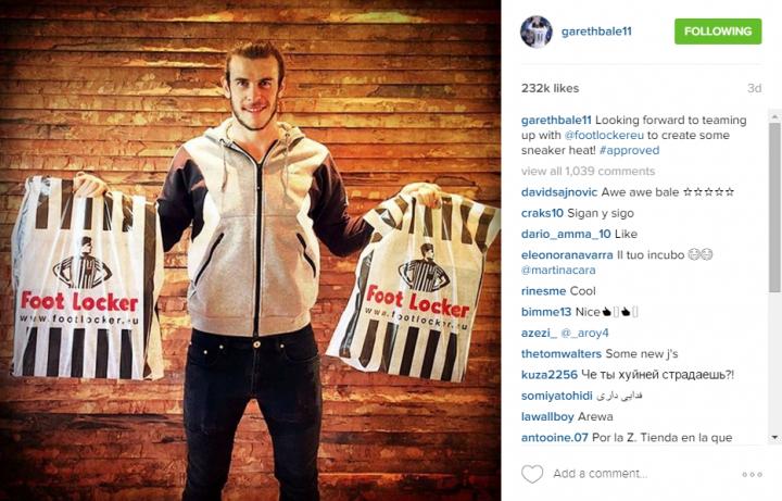 Gareth Bale_Foot Locker