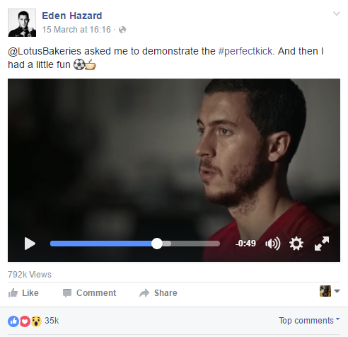 eden hazard Facebook