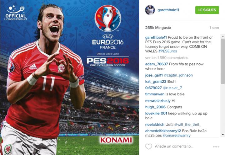 instagram Bale - Konami