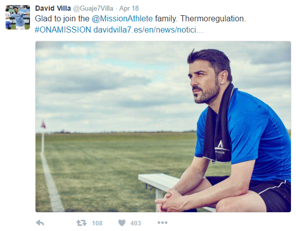 David Villa - Mission