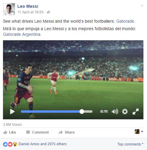 Messi - Gatorade
