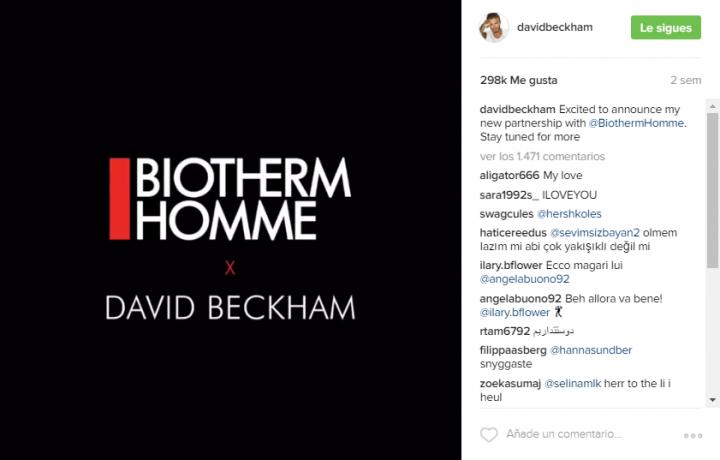 Beckham - Biotherm Homme