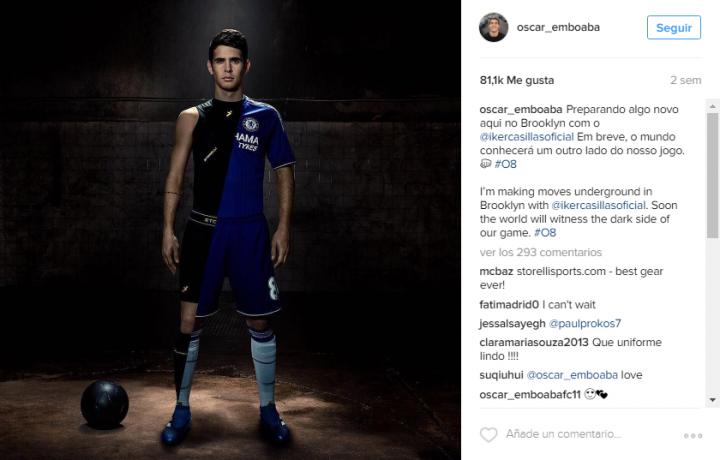 Oscar - Storelli instagram
