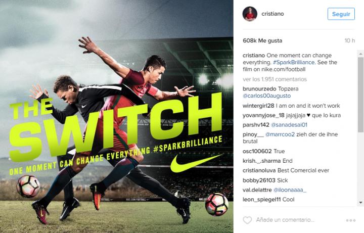 CR - Nike Instagram