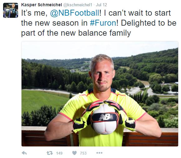 Kasper Schmeichel_NB_Twitter