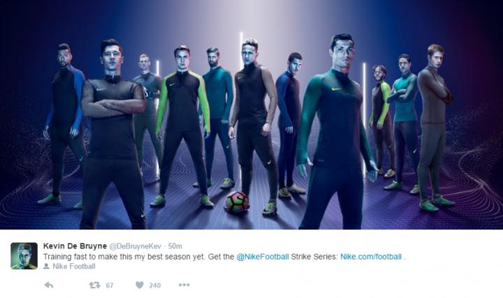 Kevin De Bruyne_Nike_twitter