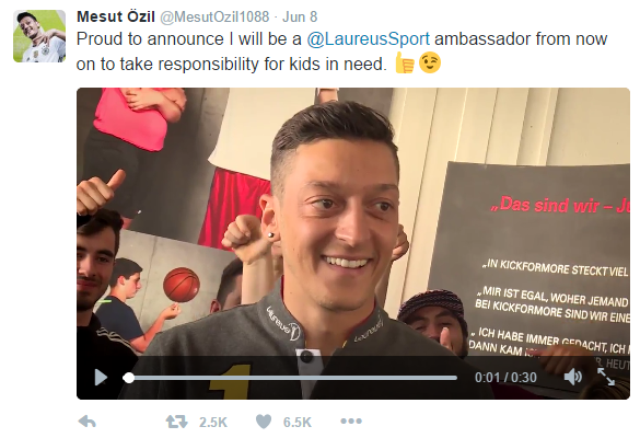 Mesut Ozil_Laureus