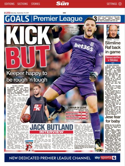 Jack Butland_2K_cover