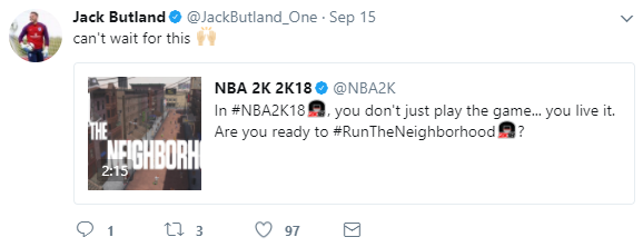 Jack Butland_2K_tweet