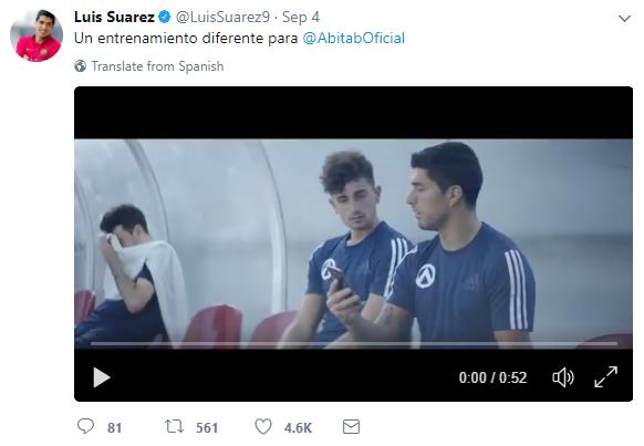 Luis Suarez_Abitab